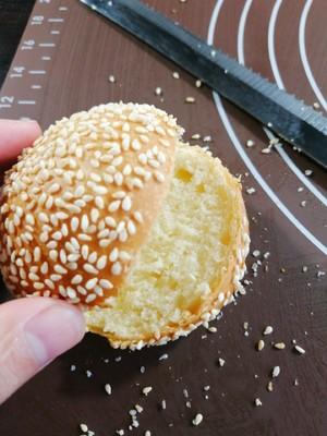 小汉堡包【蒸烤箱版】的做法 步骤11