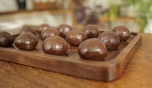 酒心巧克力月饼的做法 步骤10