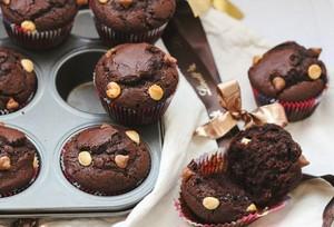 多多巧克力马芬的做法 步骤7