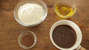 酒心巧克力月饼的做法 步骤1