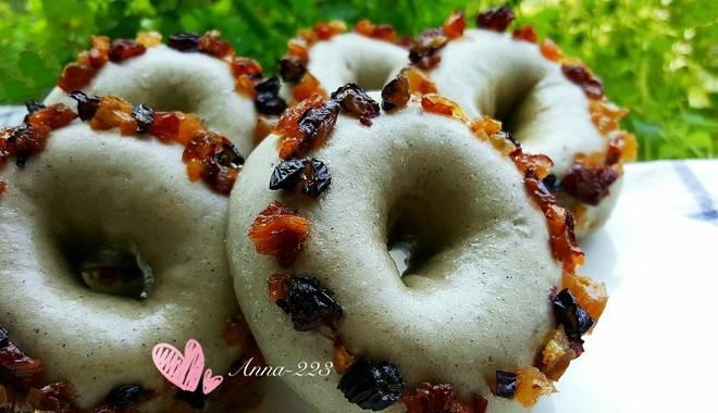 生煎黑芝麻糊甜甜圈的做法