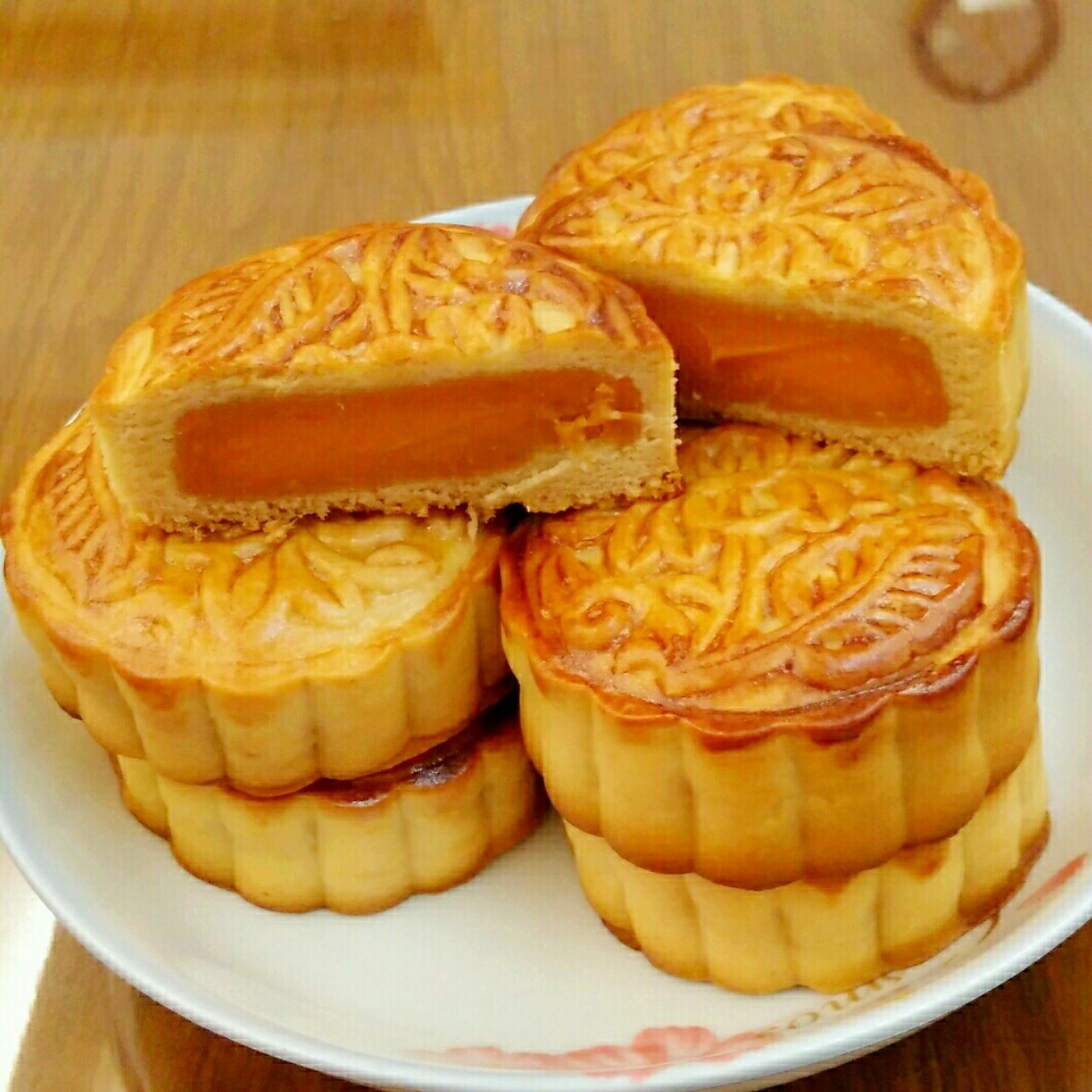广式月饼---红薯月饼的做法 步骤8