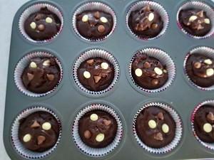 多多巧克力马芬的做法 步骤6