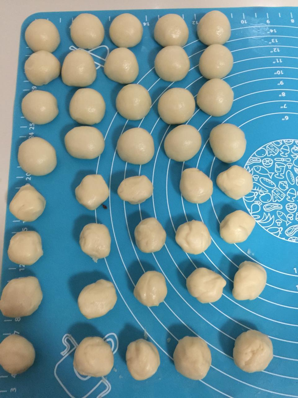 蛋黄酥的做法 步骤5