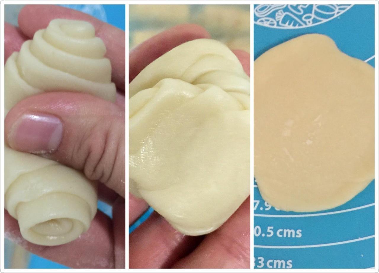 蛋黄酥的做法 步骤8