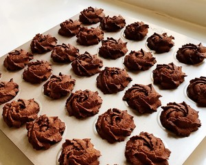 黑玫瑰曲奇饼干的做法 步骤13