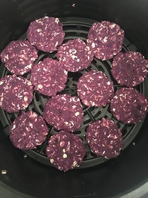 宠物零食燕麦紫薯饼的做法 步骤5
