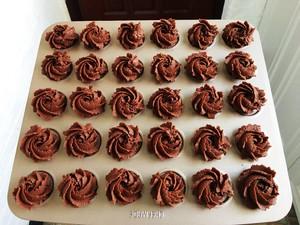 黑玫瑰曲奇饼干的做法 步骤12