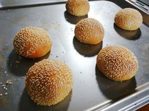 小汉堡包【蒸烤箱版】的做法 步骤10