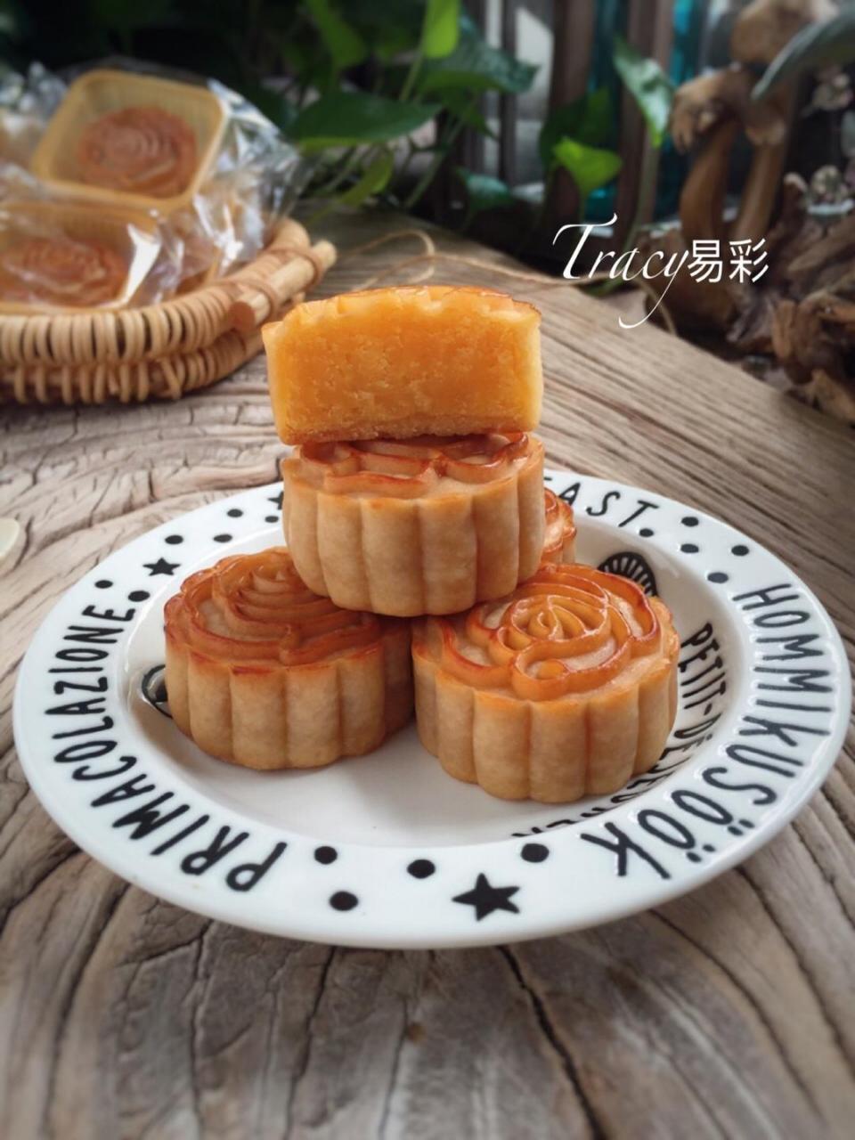 金沙奶黄月饼的做法 步骤19