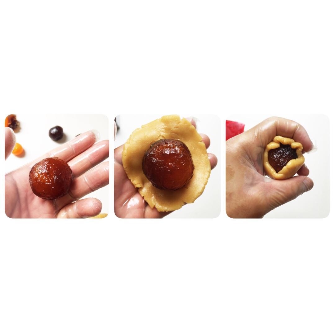 广式月饼—蛋黄冬翅月饼的做法 步骤14