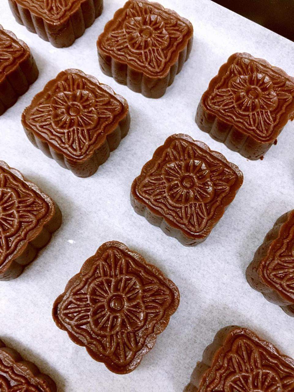 好吃的巧克力月饼的做法 步骤10