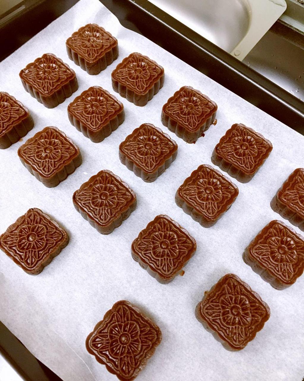 好吃的巧克力月饼的做法 步骤9