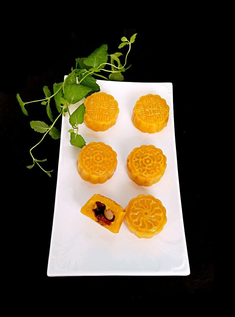 南瓜饼(月饼)的做法 步骤8