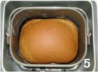 面包机版原味吐司的做法 步骤5