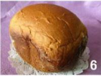 面包机版原味吐司的做法 步骤6