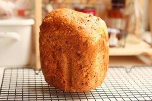 超绵鲜奶土司-松下面包机的做法 步骤10