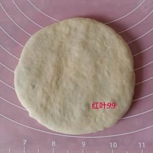 花朵豆沙面包的做法 步骤5