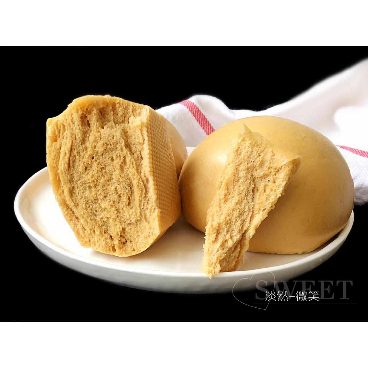 有着面包口感的红糖馒头(一次发酵)的做法