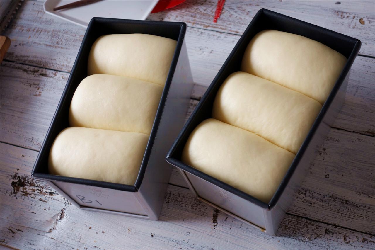 波兰种牛奶吐司的做法 步骤17