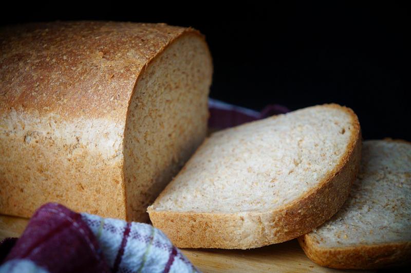 低脂全麦面包(BBA配方)的做法 步骤8