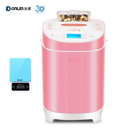 东菱(Donlim)面包机无糖全自动撒料烤面包机家用早餐机和面蛋糕机DL-T09G