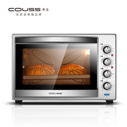 卡士Couss CO-6001电烤箱家商用烘焙多功能全自动蛋糕60升大容量