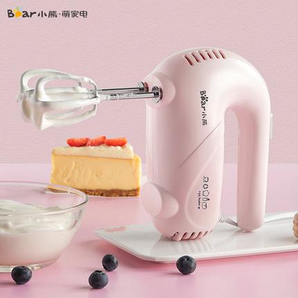 小熊打蛋器打蛋机蛋糕搅拌器电动家用迷你烘焙台式奶油打发全自动