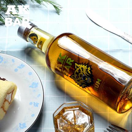 AK47夜店洋酒金朗姆akbar烈酒糕点烘焙rum甘蔗糖酒兰姆鸡尾酒基酒