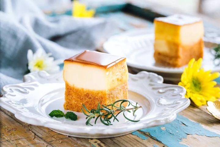 神似五花肉的布丁烧,做起来超简单,还是夏天最适合甜品!