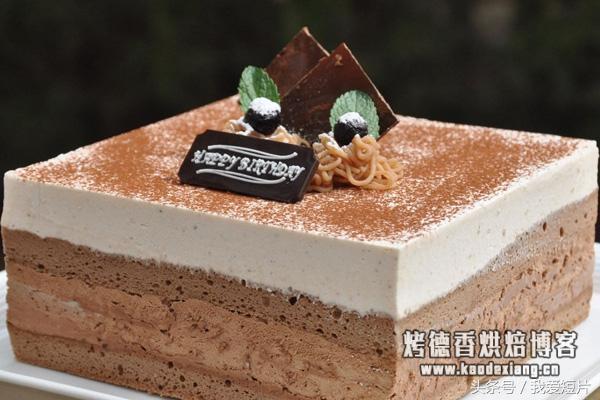 你知道海绵蛋糕、戚风蛋糕、慕斯蛋糕它们有什么区别吗?