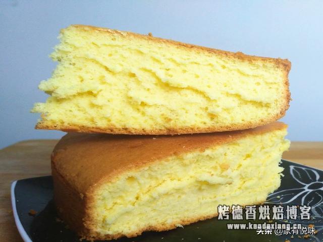 想吃蛋糕只能自己做了,全蛋液打发做蛋糕更简单