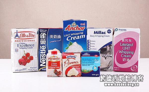 任何烘焙教程都不会告诉你的:最详细淡奶油使用测评