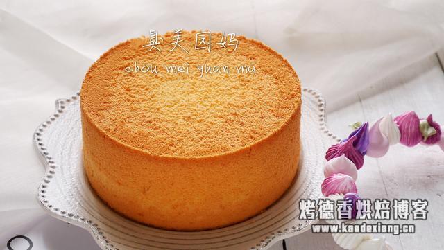 超弹性完美戚风蛋糕,详细教学步骤让你告别蛋糕失败八十一难