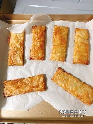 手抓饼简易版拿破仑蛋糕的做法 步骤4