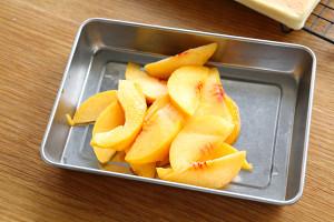 黄桃蛋糕卷(小四卷)的做法 步骤11