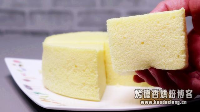 第2种蒸蛋糕独家配方,教你不塌陷的做法,百分百成功,比烤的好