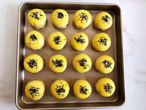 蛋黄酥,只需松弛一次的做法,适合新手的做法 步骤22
