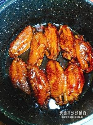 懒人版红烧鸡翅的做法 步骤8