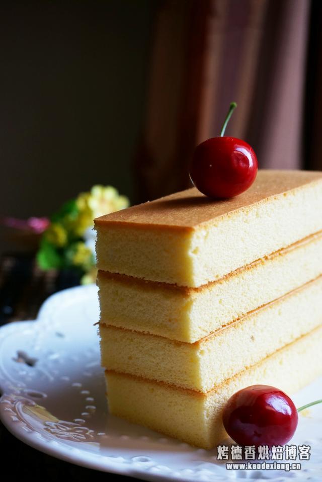 海绵蛋糕在家做,入口即化,全家都爱吃,一次吃不过瘾