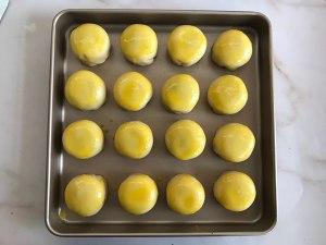 蛋黄酥,只需松弛一次的做法,适合新手的做法 步骤21