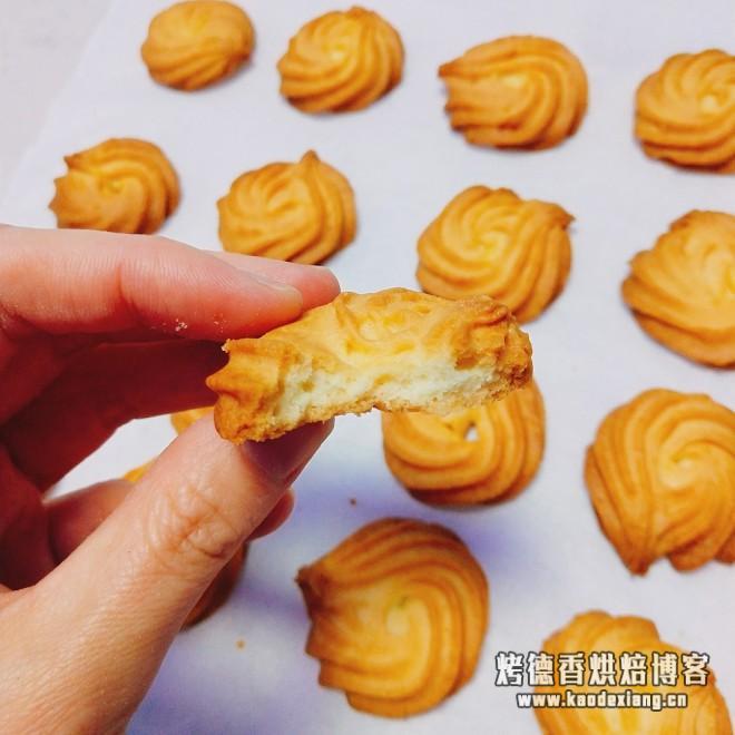 不用黄油也可以做出好吃的曲奇的做法