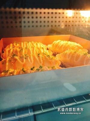 一次性发酵葱香芝士软包的做法 步骤14