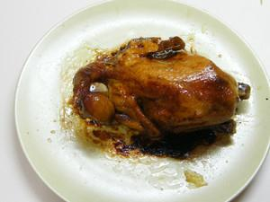 微波炉轻松做——蒜香烤鸡