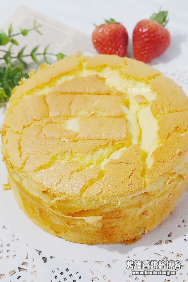 把人气疯的戚风蛋糕,不回缩不塌陷的做法,像棉花一样柔软香甜