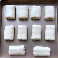 软到不知所措的牛奶卷的做法 步骤12