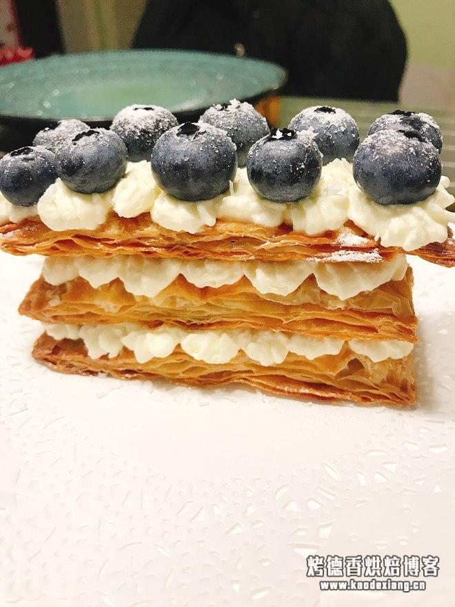 手抓饼简易版拿破仑蛋糕的做法