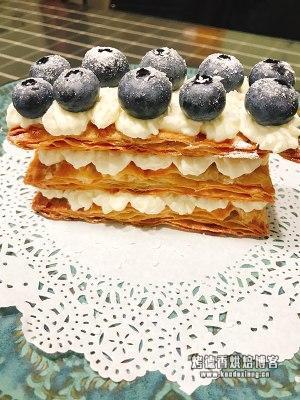手抓饼简易版拿破仑蛋糕的做法 步骤6