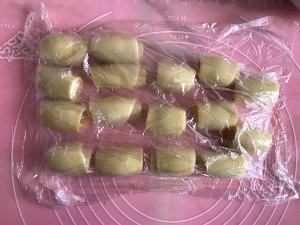 蛋黄酥,只需松弛一次的做法,适合新手的做法 步骤14