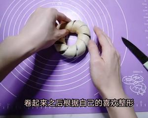 红豆沙面包卷的做法 步骤4
